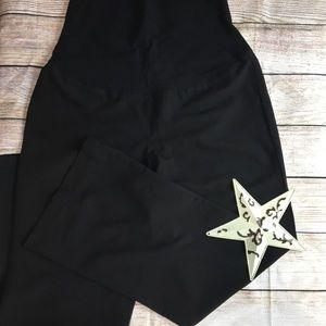 Maternity Black Dress Pants size Med - D-01